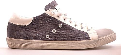 Leather Crown Hombre MCBI25974 gris Cuero Hauszapatos