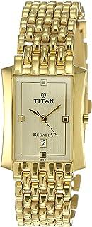 Titan Regalia Analog Gold Dial Men's Watch NM1927YM05 / NL1927YM05