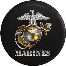 USMC United States Marine Corp Eagle Globe Anchor Emblem Spare Tire Cover fits SUV Camper RV Accessories 33 in