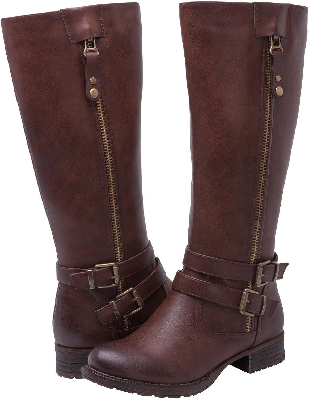 Global Win Women's KadiMaya1625-3 Boots 8M Brown