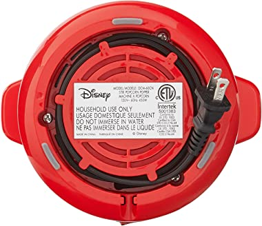 Disney DCM-60CN Mickey Mouse Popcorn Popper, 6 cup, Red