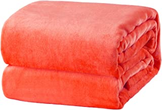 Best coral colored throw blanket Reviews