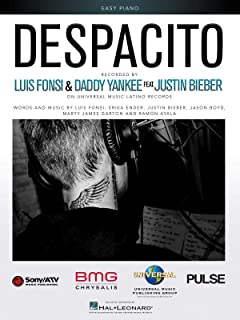 Fonsi/Bieber: Despacito (Easy Piano)