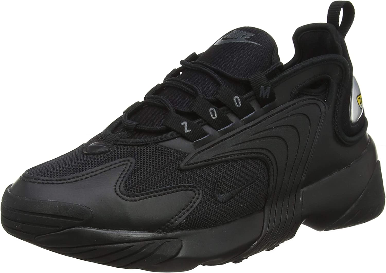 Nike Men's Zoom 2K Running shoes, Black Black Anthracite, Size 10