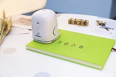 PEKOKO Creative Portable Mobile Color Printer Paperless, Inkjet Printer Mini Printer,Multi-Surface Printer Print on Wood, Pap