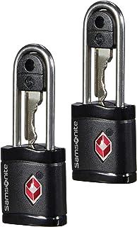 Global Travel Accessories - TSA Key Candado para Equipaje 6 Centimeters 1 Negro (Black)