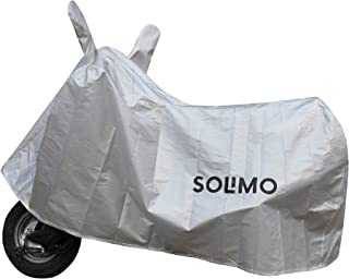 Amazon Brand - Solimo Honda Dio Water Resistant Bike Cover (Silver)