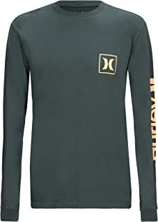 Hurley Men's Premium One and Only Icon Long Sleeve T-Shirt