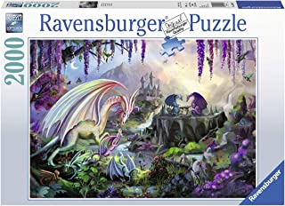 Ravensburger 16707 Dragon Valley - 2000 Piece Puzzle for Adults, Every Piece is Unique, Softclick Technology Means Pieces Fit Together Perfectly