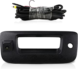 $58 » Rear View Camera for Chevy Silverado and GMC Sierra, Waterproof Tailgate Handle Backup Camera for Silverado and Sierra 200...