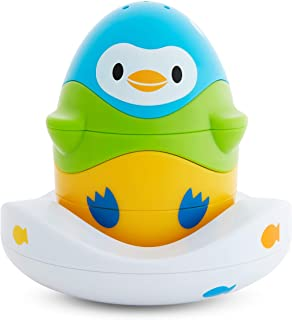 Munchkin Stack N' Match Bath Toy, Blue, Green and Yellow, 300 g, 051706
