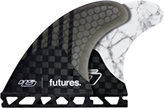 FCS or Future Fin Set Surfboard Fin Set Acavati Heavy Duty Construction Black or White Color Surfboard Fin Set 3 Piece Surf Fin Set