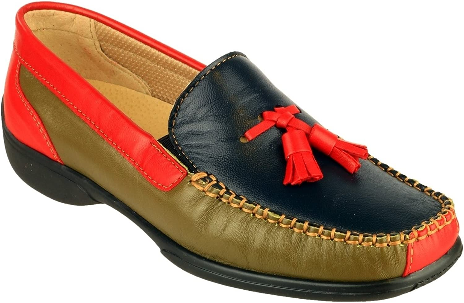 Cotswold Womens Biddlestone Slip On Loafer shoes