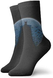tangdouou, Calcetines deportivos de Batman para niños y jóvenes