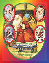 Big Kids Coloring Book: Reproductions of Vintage Santa Claus Illustrations - Volume Two: 35 gray-scale illustrations to color on single-sided pages ... coloring books (Big Kids Coloring Books)