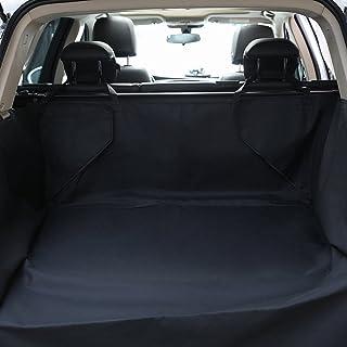 DOBEST Dog Cargo Liner Cover - Car Boot Liner Protector Waterproof - Pet Seat Cover Floor Mat Nonslip Universal for Car SUV Truck Jeeps Vans Black