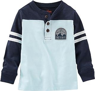 OshKosh B'Gosh Boys' Knit Polo Henley 31721310