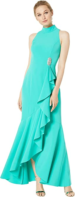 Image result for iridescent sea blue x gold gown