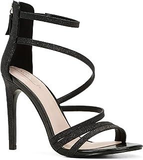 حذاء بكعب عالي للنساء - مقاس 5 US - باللون الاسود من الدو