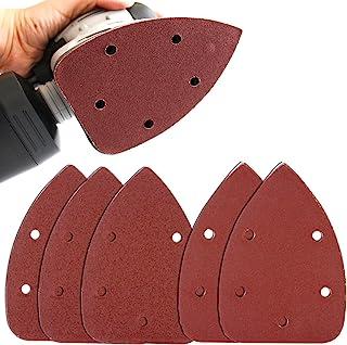 Coceca Mouse Detail Sander Sandpaper Sanding Paper Assorted 35pcs 120Grits & 15pcs..
