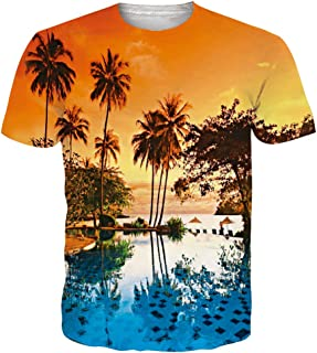 Goodstoworld T shirts Hawaiian Hilarious Clothing