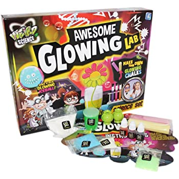 Giant Slime /& Gunge Glowing Goo Weird Science Set Childrens Fun Activity Kit