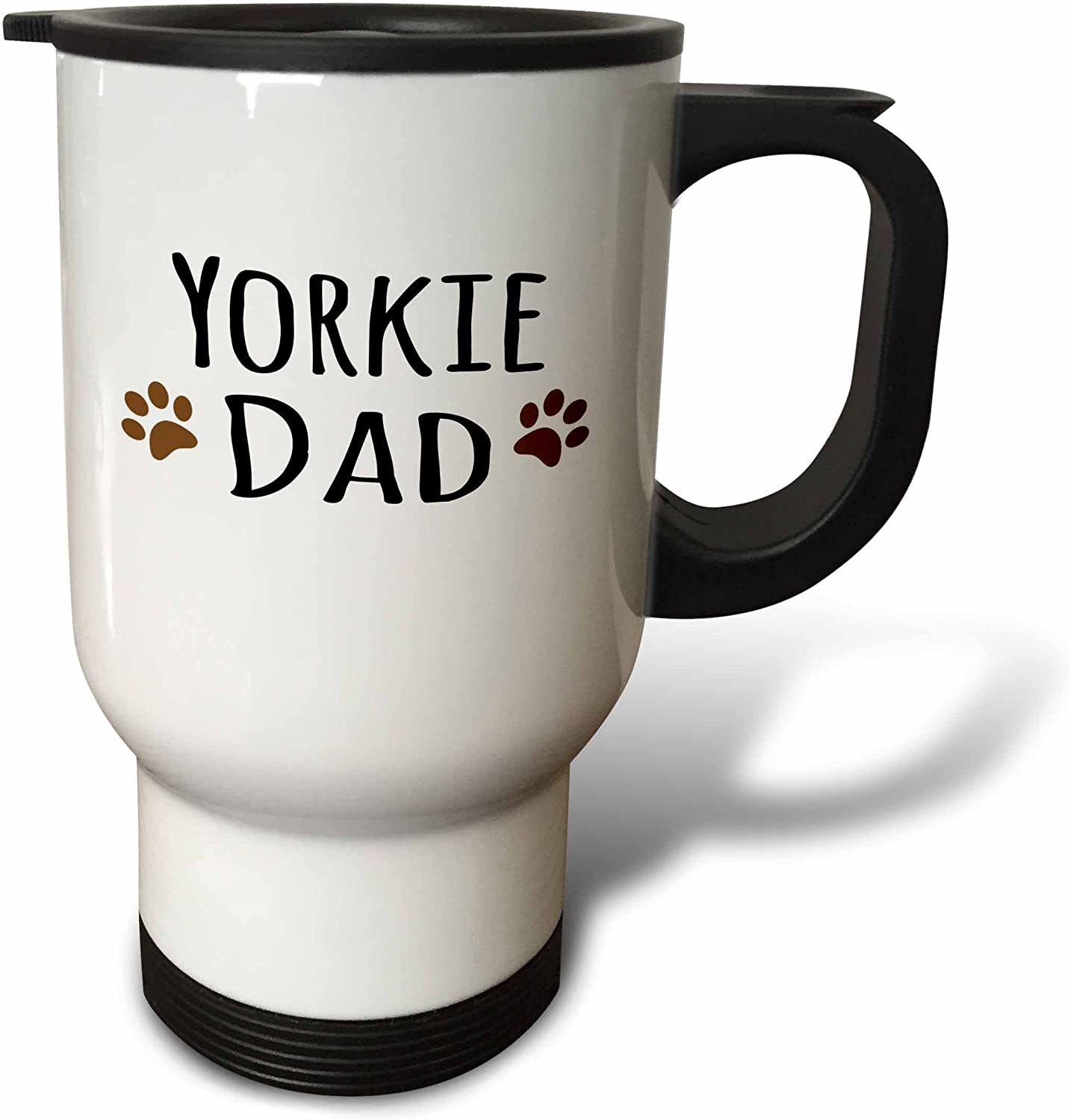 3dRose 2021new Rapid rise shipping free Yorkie Dog Dad Yorkshire Lover Doggie Doggy Breed Terrier
