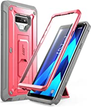 SUPCASE Full-Body Rugged Holster Case for Samsung Galaxy Note 9,with Built-in Screen Protector for Galaxy Note 9 (2018 Release), Unicorn Beetle Pro Series (Pink)