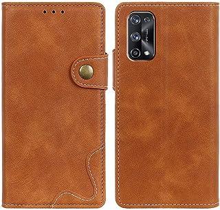 MOONCASE Realme X7 Pro Case, Premium PU Leather Cover Wallet Pouch Flip Case Card Slots Magnetic Closure Mobile Phone Prot...