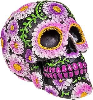 Nemesis Now Sugar Petal Skull Figura Decorativa de 15 cm,