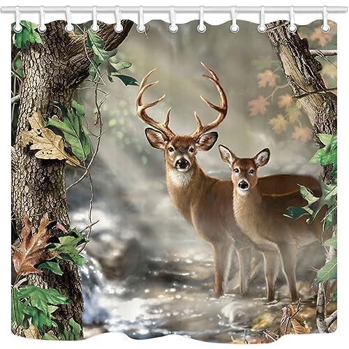 . Deer Bathroom Decor  Amazon com