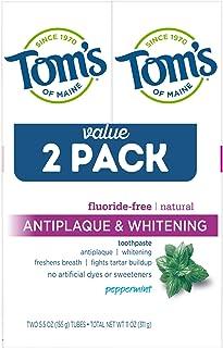 Tom'S Of Maine Antiplaque and Whitening Toothpaste, 3 Pound