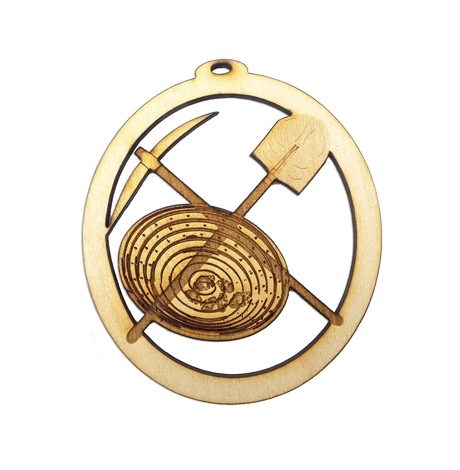 Personalized Gold Ornament OFFicial Max 65% OFF shop Mining