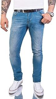 Rock Creek Men's Jeans Regular Slim Stretch M46