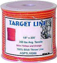 Weaver Arborist Target Throw Line Orange/Yellow, 3.175mm