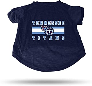 Tennessee Titans Dog Cat Premium T-Shirt Cotton Tagless Large
