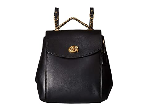 4b18ac440164 COACH Refined Calf Leather Parker Backpack at Zappos.com