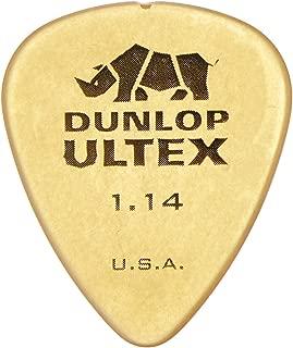 Dunlop 421R114 1.14mm Ultex Guitar Picks, 72-Pack