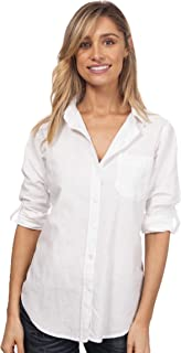 Women's Washed Casual Linen Button-Down Shirt Look Cool