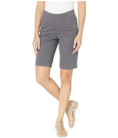 Jag Jeans Gracie Pull-On Bermuda Shorts Twill (Grey Streak) Women