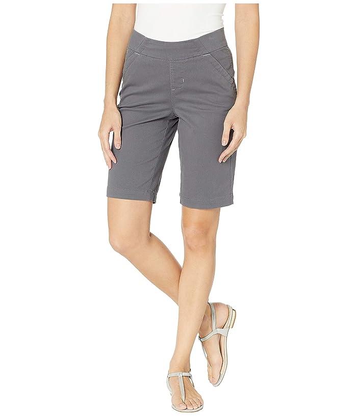 Jag Jeans Gracie Pull-On Bermuda Shorts Twill (Grey Streak) Women's Shorts