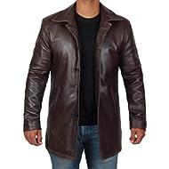 Blingsoul Leather Coats for Men... Blingsoul Leather Coats for Men - Lambskin Leather Casual Blazer for Mens