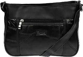 LLUPP Women's Shoulder Bag Black black 27x19x7 cm