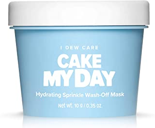 Best I DEW CARE Cake My Day Hydrating Sprinkle Wash-Off Facial Mask   Korean Skin Care Face Mask With Hyaluronic Acid, Face Moisturizer To Plump, Nourish And Moisturize Skin   Birthday gifts for friends female (3.52 oz) Review