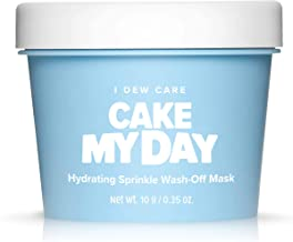 I DEW CARE Cake My Day Hydrating Sprinkle Wash-Off Facial Mask   Korean Skin Care Face Mask With Hyaluronic Acid, Face Moi...