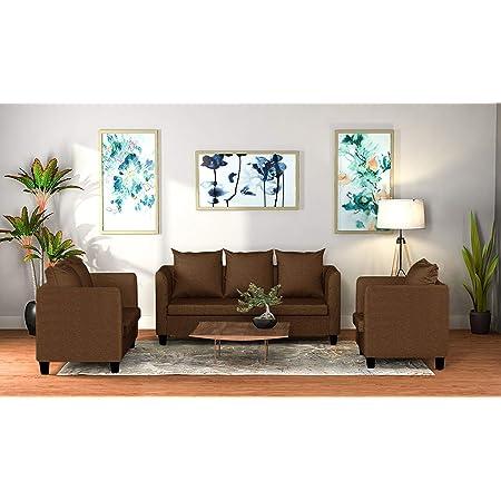 CasaStyle - Delmonte Six Seater 3+2+1 Sofa Set (Brown)