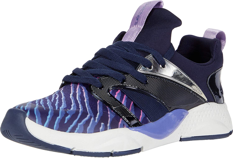Skechers Unisex-Child Kid's Shine Status Sneaker