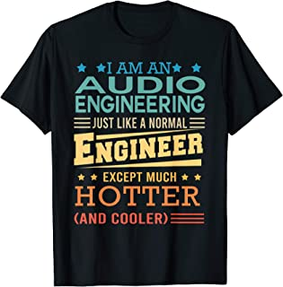 Funny Retro Audio Engineering Gifts Vintage T-Shirt