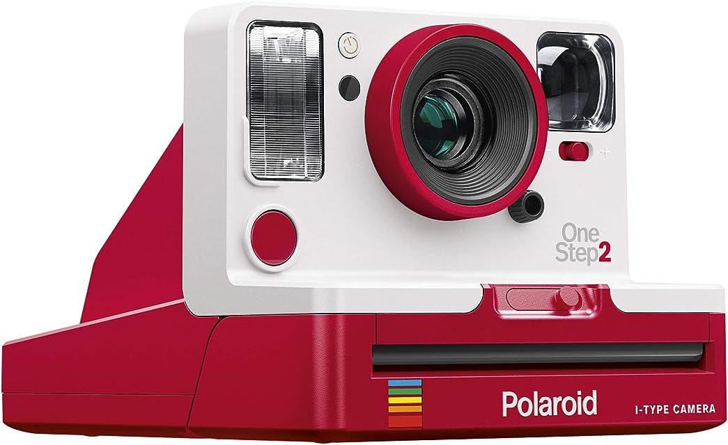 Polaroid Originals - 9020 - One Step 2 ViewFinder - Cámara de Fotos instantánea Color Rojo