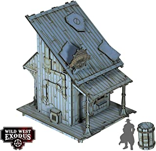 Wild West Exodus - Terrain 28mm Red Oak - Distillery SW